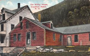 Old Wiley House, Crawford Notch, New Hampshire, Early Postcard, Used in 1916