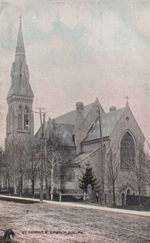 GUELPH, Ontario, 1908 ; St. George's Church