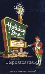 Holiday Inn Columbia MO 1961