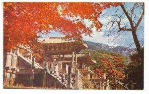 Bulguk-sa temple buddhist,: Korea, 50-60s