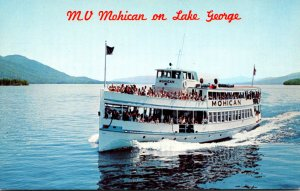 New York Lake George MV Mohican