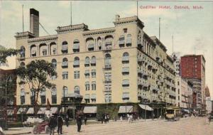 Cadillac Hotel Detroit Michigan 1912