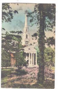 The Village Chapel In Its Attractive Setting, Pinehurst, North Carolina, 1900...