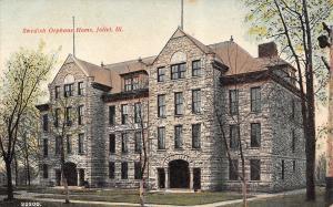 Joliet Illinois~Swedish Orphans Home~4 Story Stone Orphanage~Powell Avenue~1910