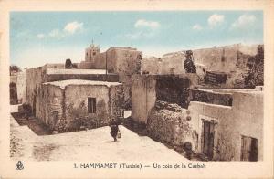 BF8863 un coin de la casbah hamamet types tunisia     Tunisia