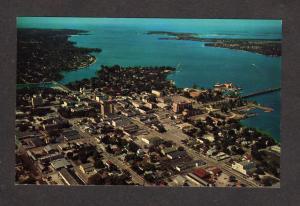 Fl Manatee River Aerial View Bradenton Florida Postcard