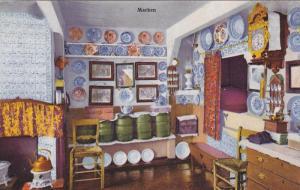 MARKEN, Noord-Holland, Netherlands, 1900-1910´s; Interior View Of A Home, Vi...
