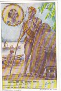 Liebig Trade Card S1626 Peoples Of Belgian Congo No 8 Les Ngombe
