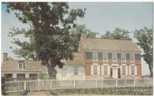 John Dickson Dickinson Mansion, Dover, Delaware, unused Postcard