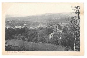 Scotland Melrose Abbey View from Priorwood Garden Postcard