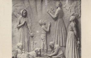 Debora Jacoba Retief Dommisse Rock Carving South Africa Postcard