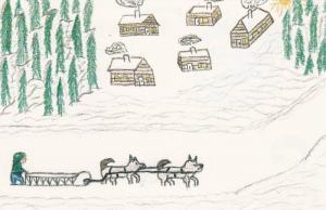 Artwork From Indians Kids (Ann-Margaret Sanguez- Age 15), Expo 86, Northwest ...