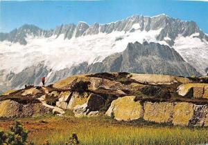 GG3374 goschener alp mit dammastock schweiz     switzerland