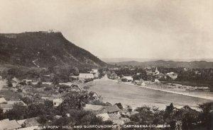RP: CARTAGENA , Colombia , 1930s ; La Popa Hill
