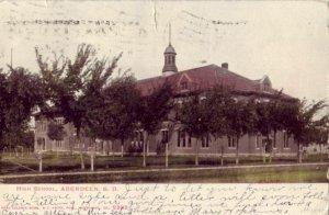 ABERDEEN, SD HIGH SCHOOL 1907
