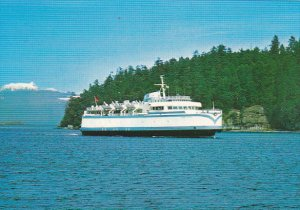 Canada Ferry M V Queen Of Sidney British Columbia