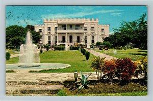 St Philip Barbados, Sam Lord's Castle, Chrome Postcard