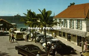 St. Maarten, N.A., PHILIPSBURG, The Courthouse Square, Cars (1960s)