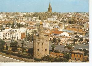 Postal 045760 : Sevilla. Torre del Oro y Catedral