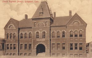 BRIDGEPORT, Connecticut, PU-1908; Fourth Regimment Armory