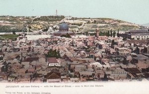 JERUSALEM with Mount of Olives , 00-10s