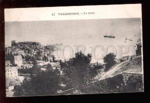 027583 Turkey TREBIZONDE Port view Vintage PC