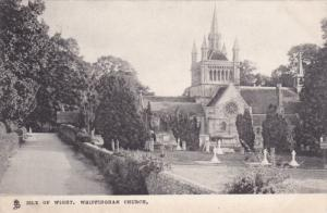 Isle of Wight , Whippingham Church , England , PU-1904 TUCK