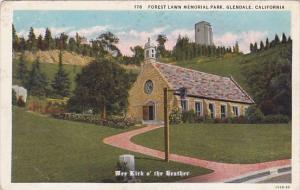 California Glendale Forest Lawn Memorial Park