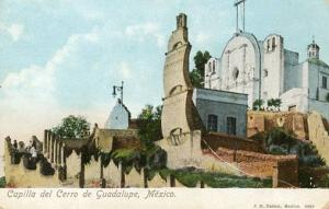 Mexico - Guadalupe, Capilla del Cerro de Guadalupe (Chapel Hill)
