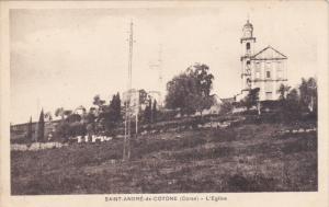 L'Eglise, SAINT ANDRE DE COTONE (Haute Corse), France, 1900-1910s