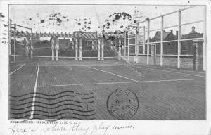 Lynchburg Virginia YMCA Roof Garden Vintage Postcard JD933732