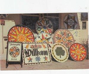 AMISH HEX Signs , Pennsylvania, 1950-1960s