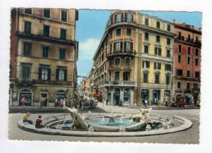 RP, Piazza di Spagna, Spagna Square, Roma, Italy, 1940-1960s