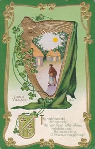 Saint Patrick's Day Irish Village and Harp 1912