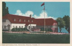 BELLEVILLE , Ontario , 1930s-40s ; Golf & Country Club