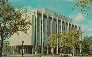 WINNIPEG, Manitoba, Canada, 1940-60s; Monarch Life Building, Classic Cars