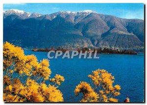 Postcard Modern Brissago Lago Maggiore