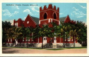 Kansas Chanute Methodist Church