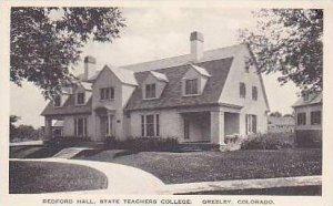 Colorado Greeley Bedford Hall State Teachers College Albertype