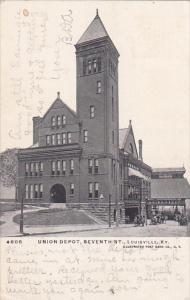 Kentucky Louisville Union Depot Seventh Street 1906