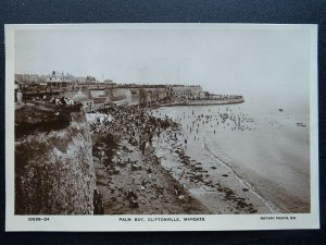 Kent MARGATE Cliftonville PALM BAY c1920s RP Postcard by Rotary