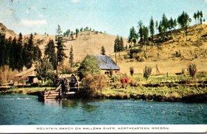 Northeastern Oregon Mountain Ranch On Wallowa River 1944