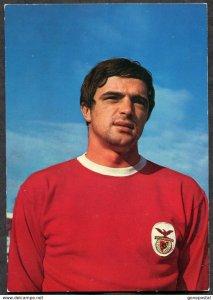 p75 - ARTUR JORGE Postcard 1970s Benfica Lisboa Soccer Player Football Futbol