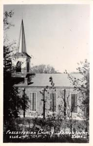 Bentonsport Iowa~Presbyterian Church~1960s Real Photo Postcard~RPPC