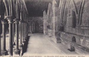 France Abbaye du Mont Saint-Michel La Merveille le lavatorium