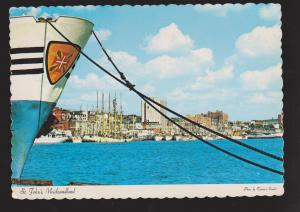 NEWFOUNDLAND - Portuguese White Fishing Fleet In The Harbour - Unused