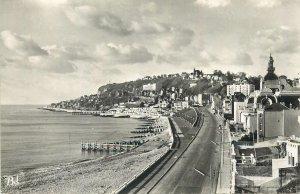 France Postcard Le Havre Albert I boulevard & vue de la Heve