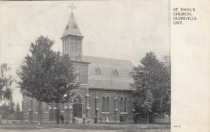 DUNNVILLE , Ontario , Canada, 1908 ; St. Paul's Church
