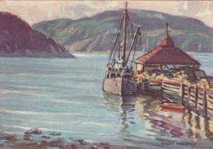 L'Anse Saint-Jean , Saguenay , Quebec , Canada , PU-1951