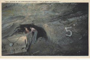 Coal Mining in the BIRMINGHAM District (Alabama), 1 mile from the surface , 1...